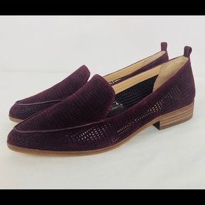 Vince Camuto perforated Loafers NWOB